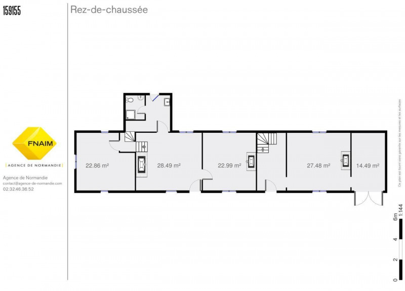 Sale house / villa Montreuil-l'argille 106500€ - Picture 3
