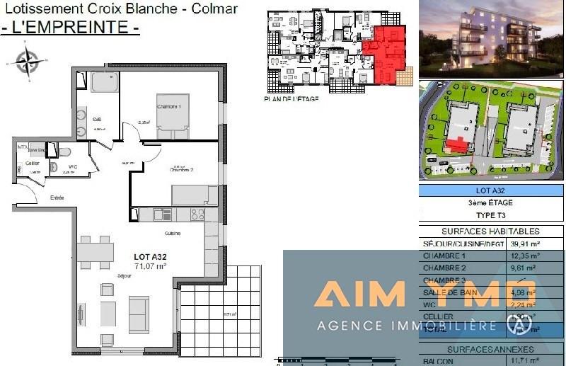 Vendita appartamento Colmar 197000€ - Fotografia 2