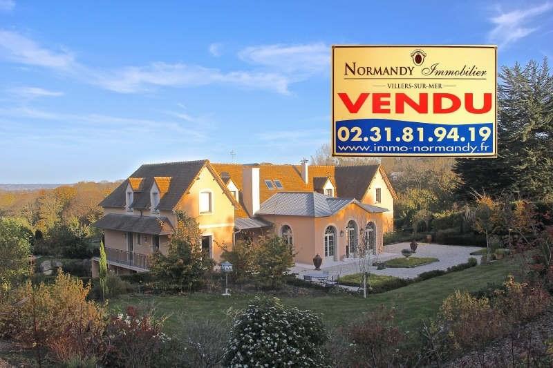 Deluxe sale house / villa Villers sur mer 1590000€ - Picture 1