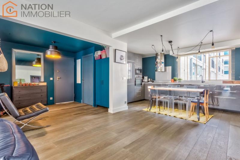 Vente de prestige appartement Paris 20ème 1039000€ - Photo 4