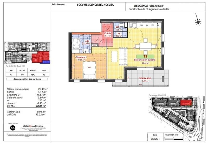Sale apartment Bourgoin jallieu 134300€ - Picture 4