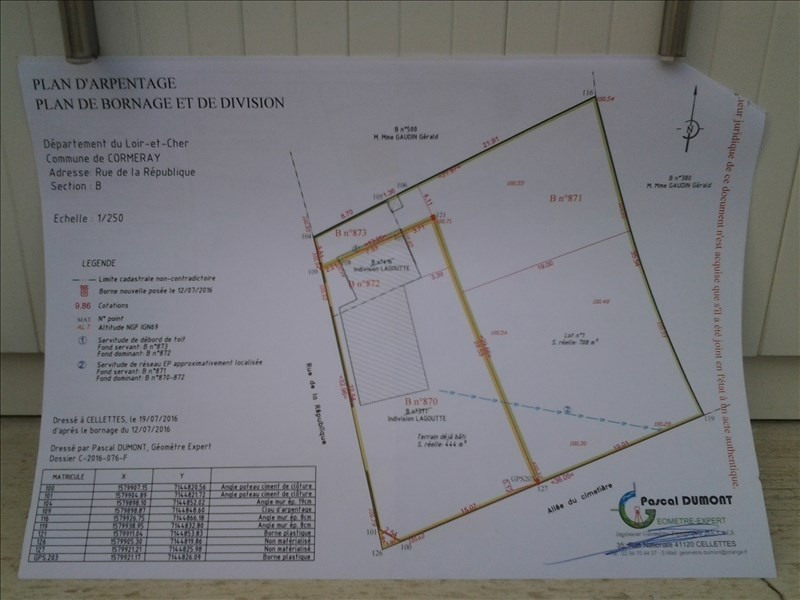 Sale site Vineuil 34000€ - Picture 3