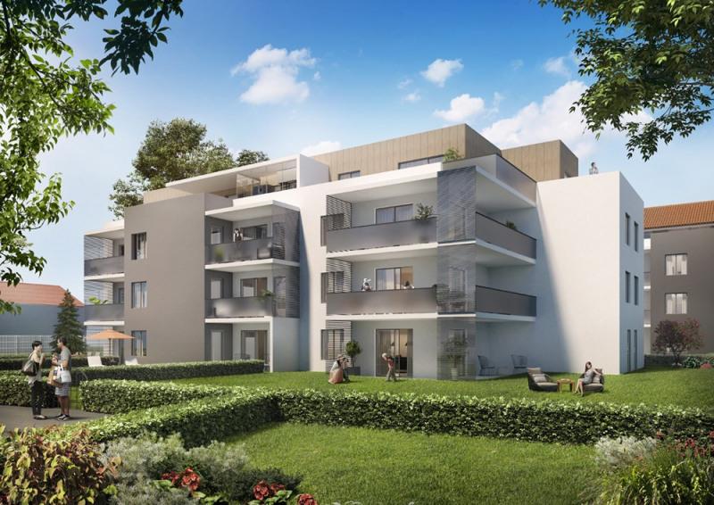 Appartement de 4 pièces de 105.84m² avec jardin