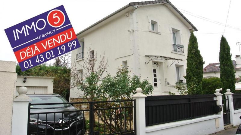 Vente maison / villa Villemomble 356000€ - Photo 1