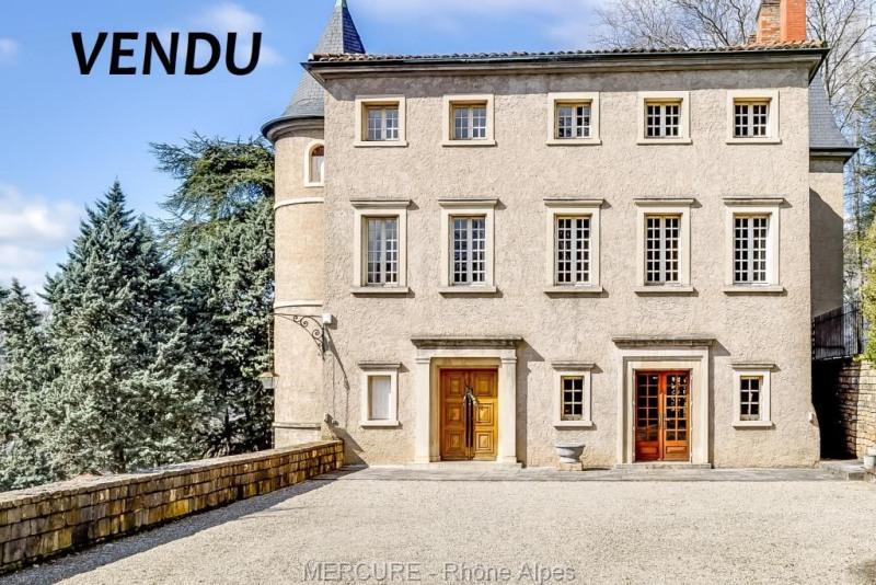 A vendre exceptionnel - château 370 m² - caluire et cuire