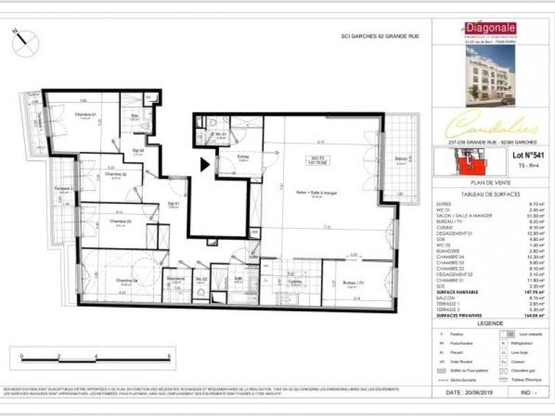 Deluxe sale apartment Garches 1 305 000€ - Picture 3