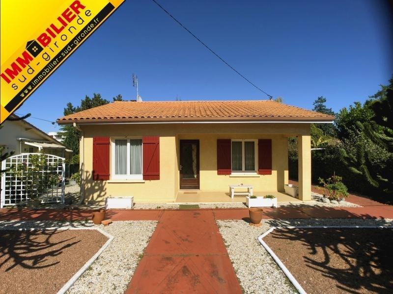 Vente maison / villa Podensac 228000€ - Photo 1