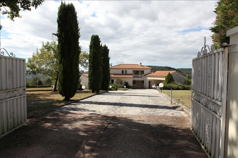 Sale house / villa Rochemaure 545 000€ - Picture 1