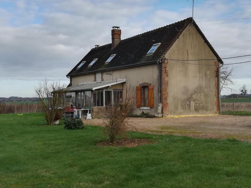 Sale house / villa Villechauve 139500€ - Picture 1