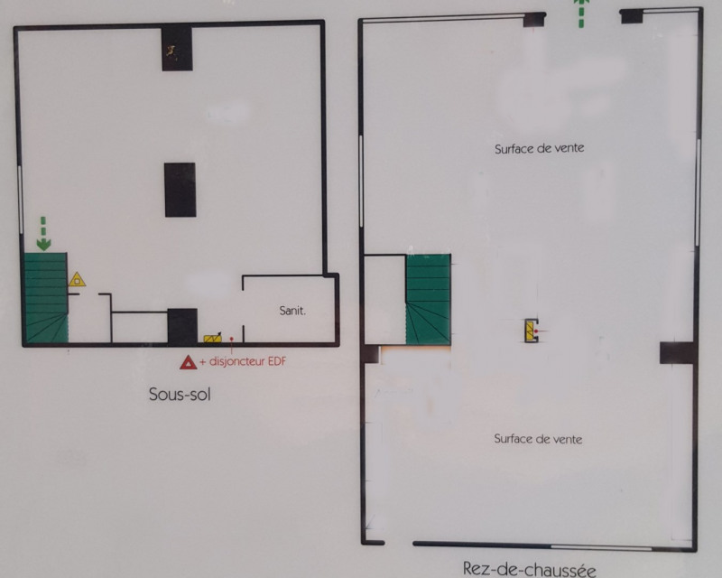 Commercial lease transfer shop Paris 6ème 120 000€ - Picture 1