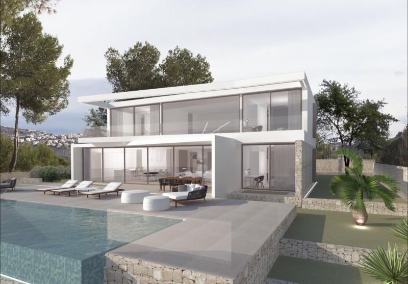 Verkauf von luxusobjekt haus Moraira province d'alicante 950000€ - Fotografie 2