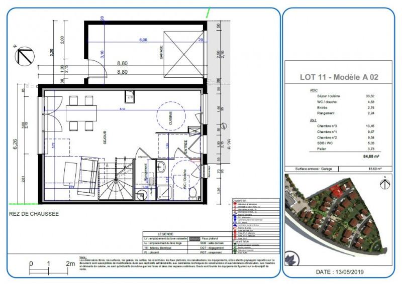 Sale house / villa L isle d'abeau 255200€ - Picture 2