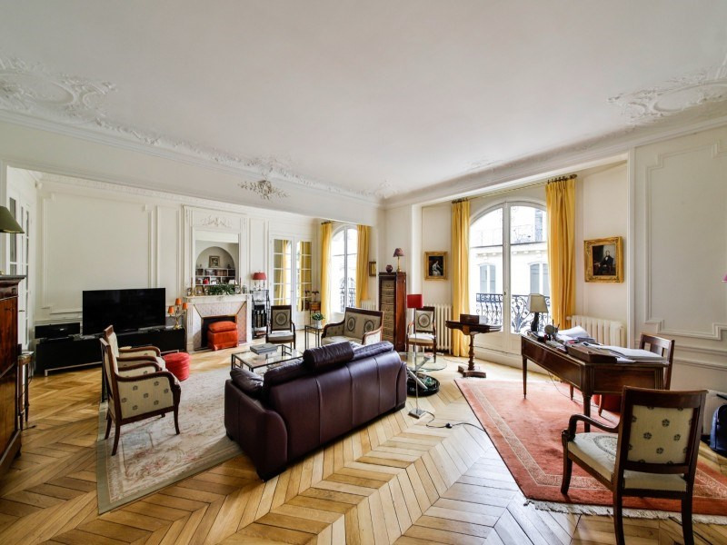 Deluxe sale apartment Paris 17ème 2 750 000€ - Picture 3