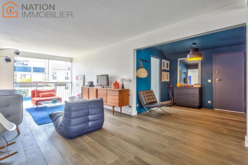 Vente de prestige appartement Paris 20ème 1039000€ - Photo 3