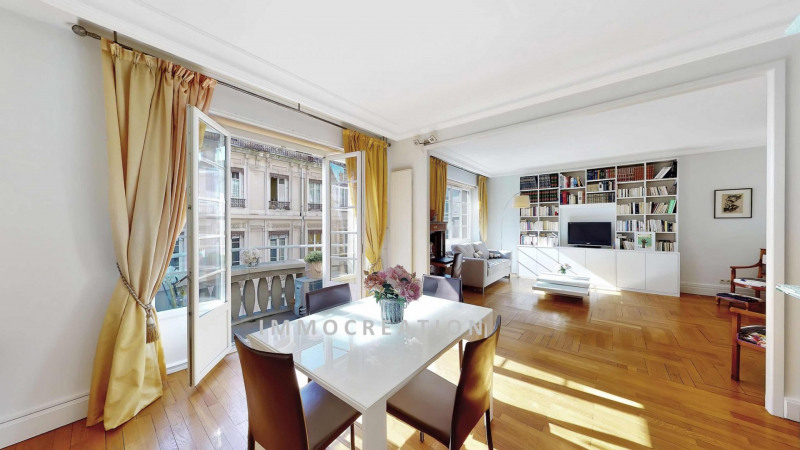 Vente de prestige appartement Lyon 6ème 580000€ - Photo 2