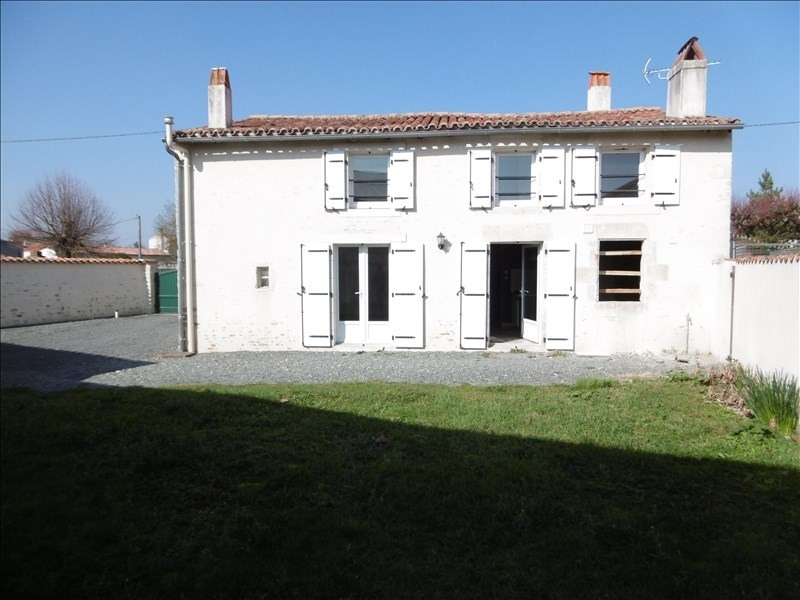 Vente maison / villa Frontenay rohan rohan 137800€ - Photo 1