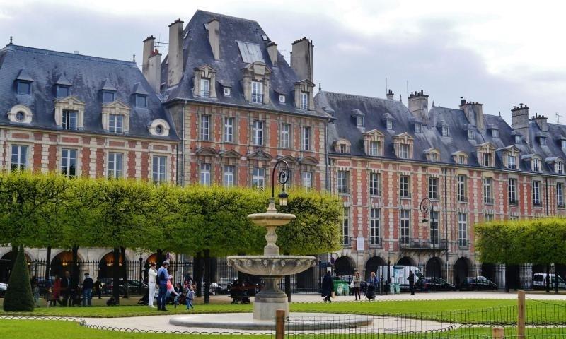 Deluxe sale apartment Paris 4ème 1250000€ - Picture 1