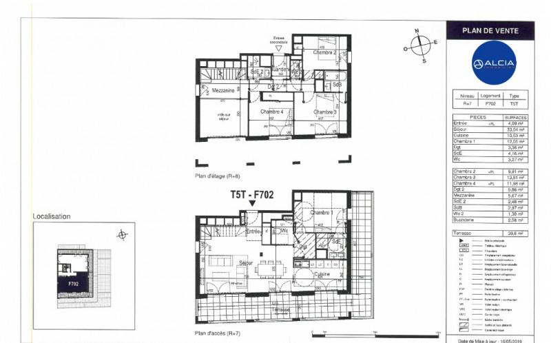 Vente de prestige appartement Bordeaux 796000€ - Photo 2