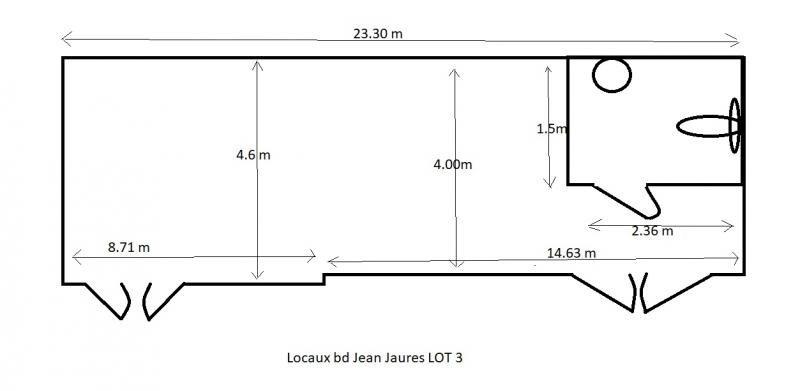 Location local commercial Boulogne billancourt 2700€ HT/HC - Photo 9