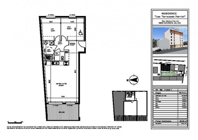 Vente appartement Bourgoin jallieu 182000€ - Photo 2