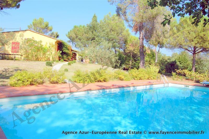 Deluxe sale house / villa Le canton de fayence 875000€ - Picture 2