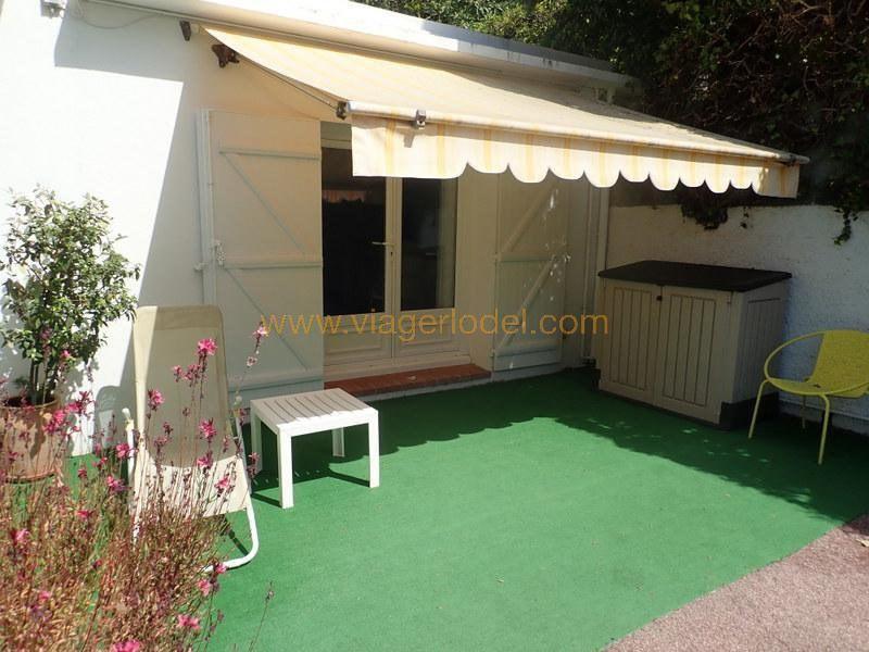 Verkauf auf rentenbasis haus Biot 135000€ - Fotografie 3