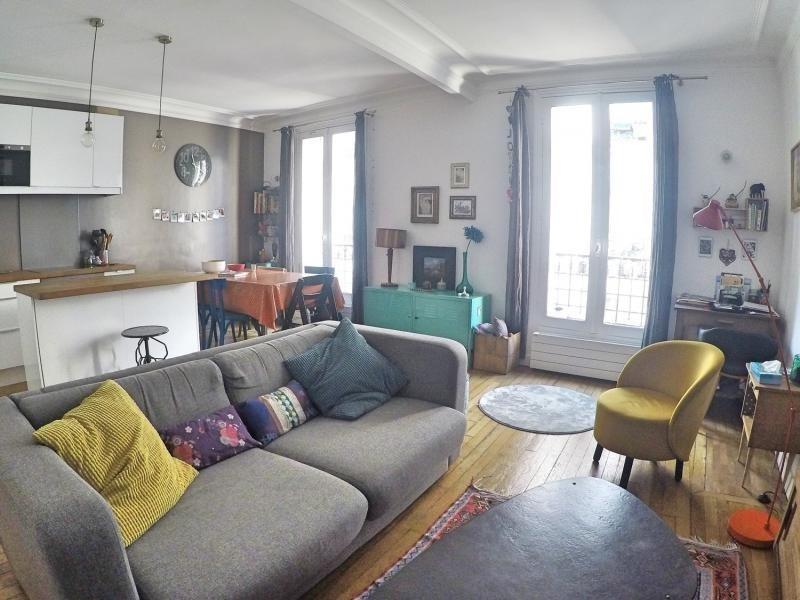 Sale apartment Paris 19ème 525000€ - Picture 1