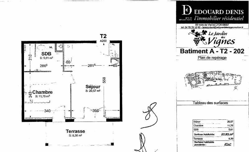Rental apartment Thonon les bains 532€ CC - Picture 2