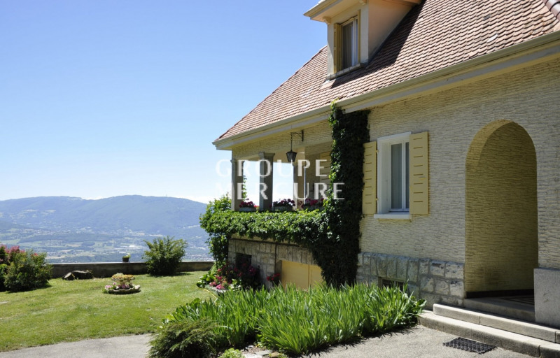 Maison bourgeoise 250 m² a lucinges avec vue imprenable sur
