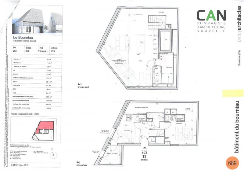 Vente appartement Novalaise 299750€ - Photo 2