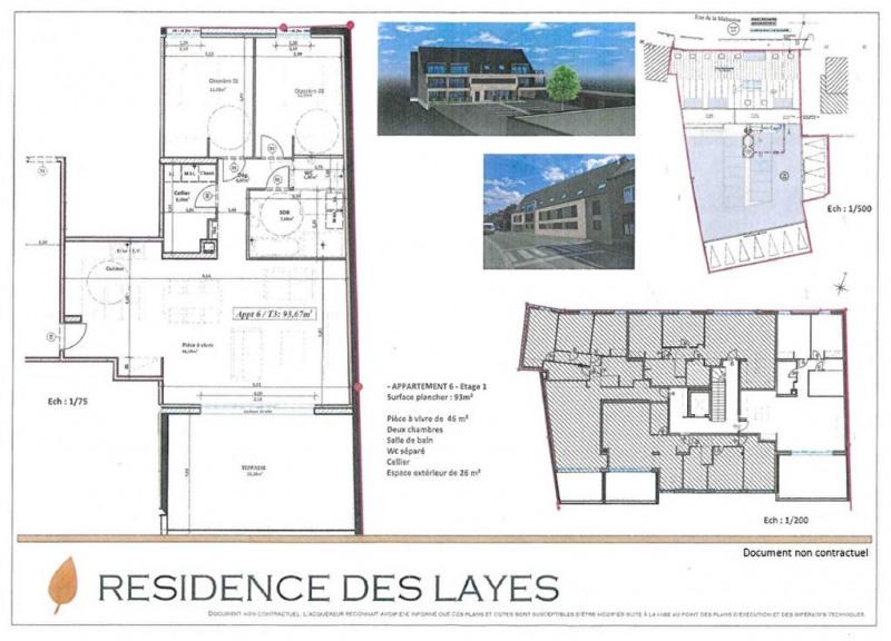 Sale apartment Fleurbaix 288634€ - Picture 3