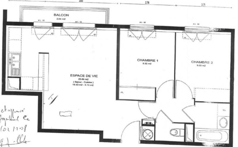 Verkauf wohnung Argenteuil 206000€ - Fotografie 10