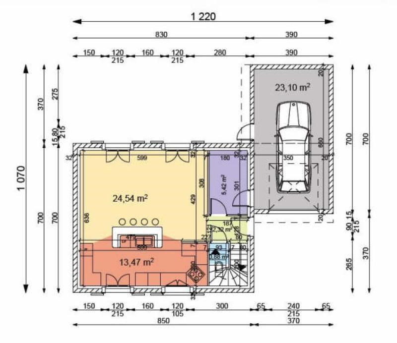 Продажa дом Thurins 229000€ - Фото 3