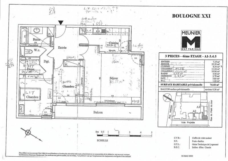 Vente appartement Boulogne-billancourt 640000€ - Photo 12
