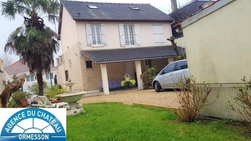 Vente maison / villa Ormesson sur marne 495000€ - Photo 1