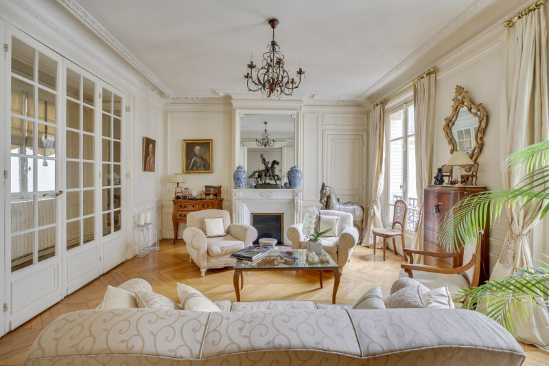 Deluxe sale apartment Paris 16ème 2190000€ - Picture 2