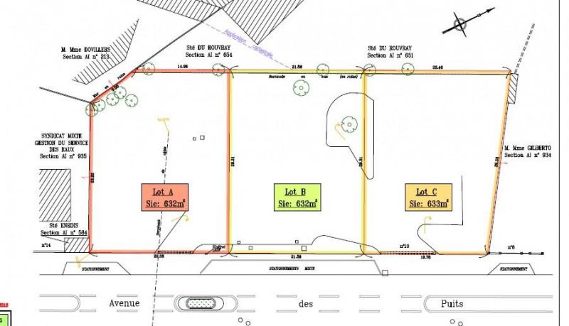Venta  terreno La celle-saint-cloud 667800€ - Fotografía 3