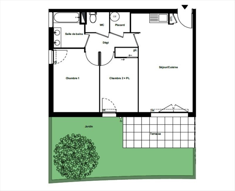 Sale apartment Perpignan 173 500€ - Picture 1