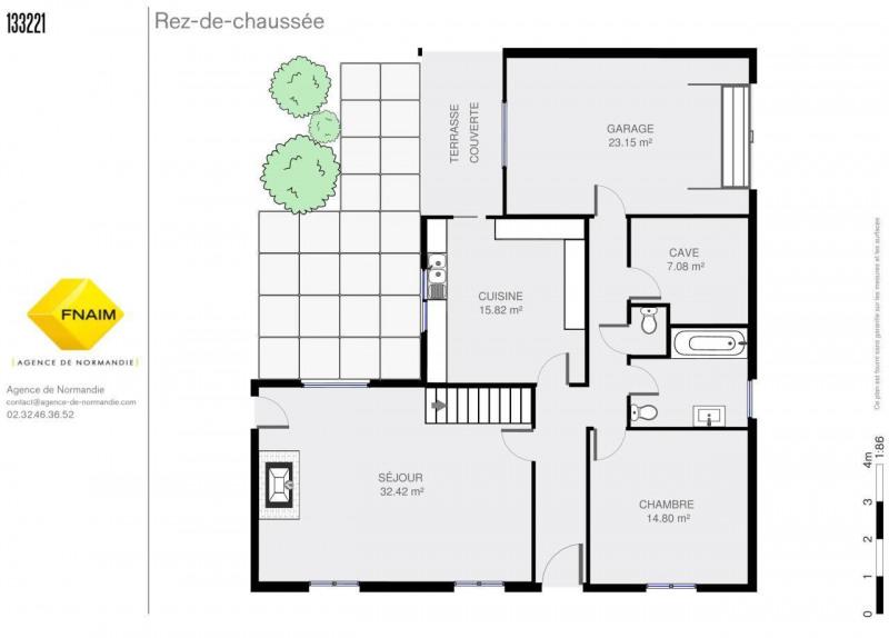 Vente maison / villa Montreuil-l'argillé 101500€ - Photo 3
