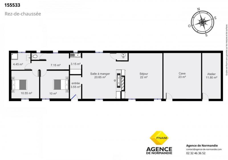 Sale house / villa Broglie 155000€ - Picture 2