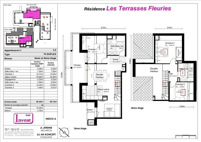 Vente de prestige appartement St lary soulan 247500€ - Photo 6