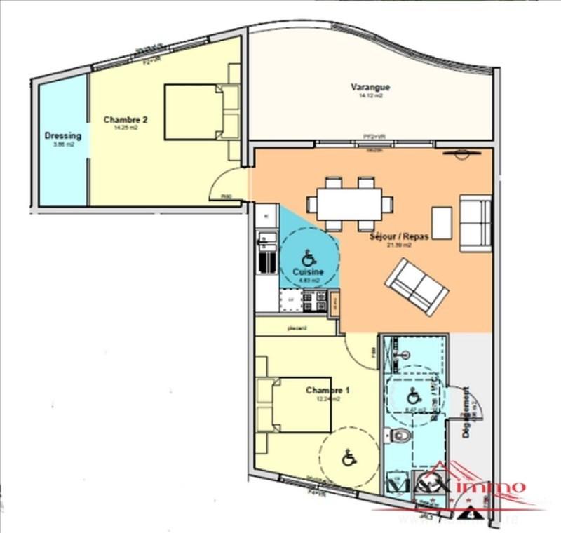 Vente appartement St denis 299800€ - Photo 2