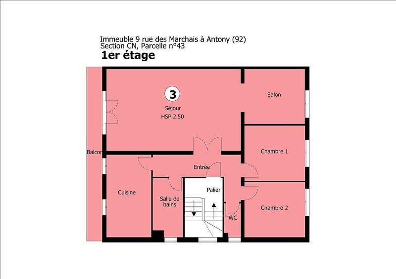 Sale apartment Antony 260000€ - Picture 5