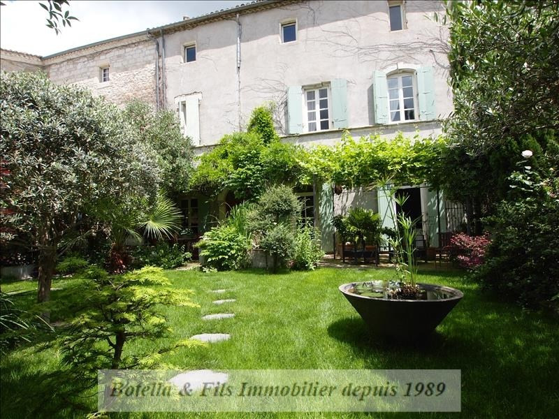Deluxe sale chateau Uzes 595 000€ - Picture 1