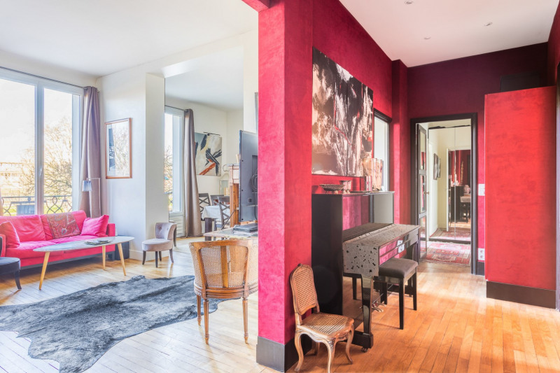 Vente de prestige appartement Paris 16ème 1 500 000€ - Photo 1