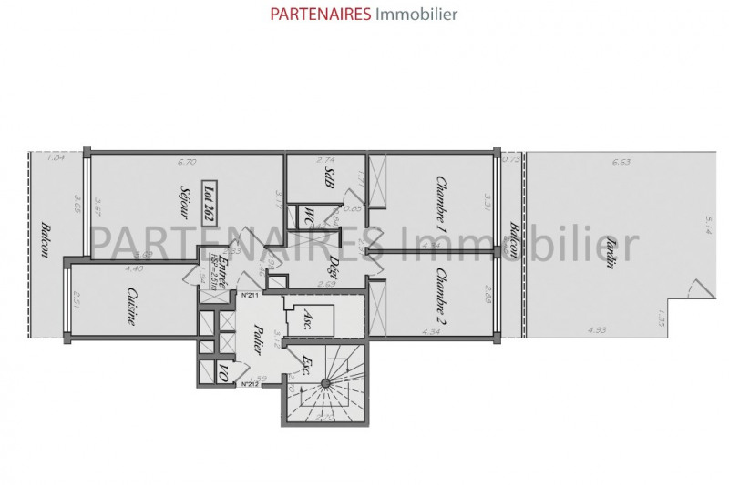 Sale apartment Le chesnay 447 000€ - Picture 9
