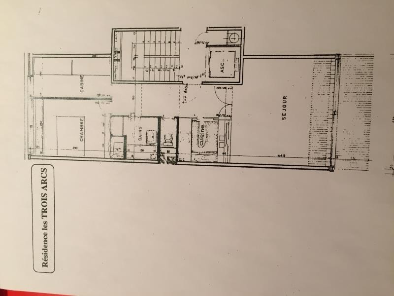 Vente appartement Les arcs 295000€ - Photo 12