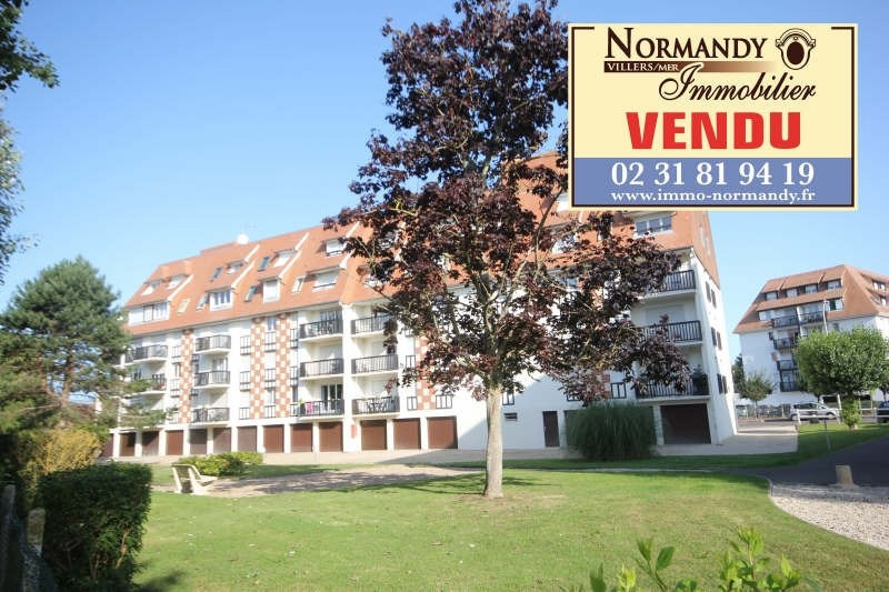 Sale apartment Villers sur mer 102 500€ - Picture 1