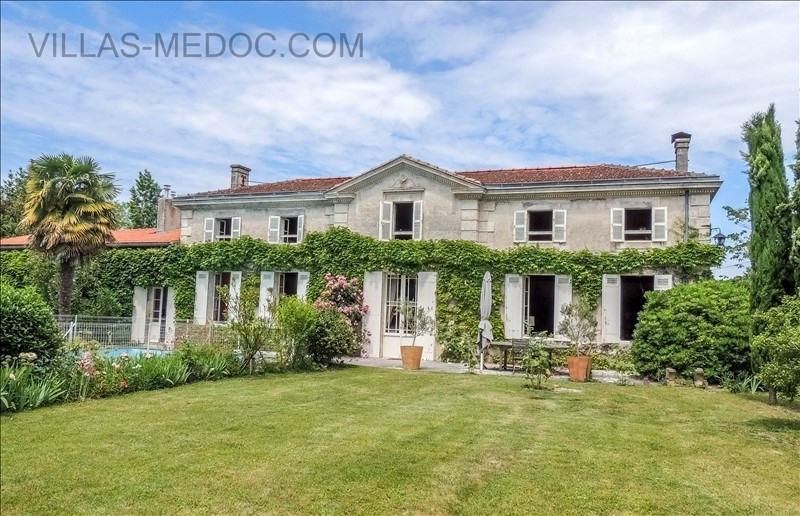 Vente maison / villa Civrac en medoc 430000€ - Photo 1
