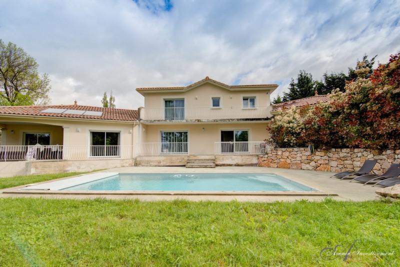 Limonest - maison 300 m² - sous-sol aménagé 195 m² - terrai
